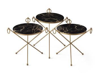 Turecki trzy paczka stolik kawowy konsola boczna Couchtisch Sehpa Ve Masalar Salon Tafel Salon kawy Mesa dwa kolor tanie i dobre opinie TR (pochodzenie) Meble do domu Meble do salonu