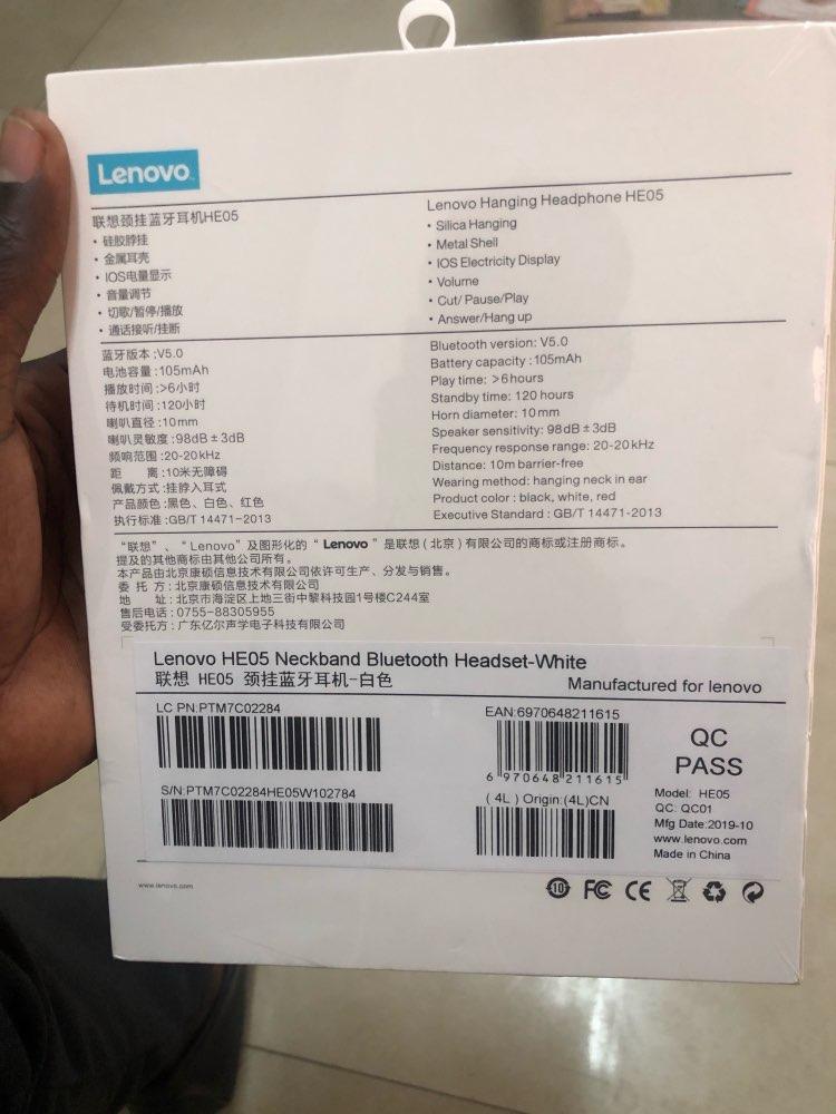 Lenovo Wireless Bluetooth Earphone Headphones Magnetic Sports Running Headset Earplug Waterproof Sport Earphones Noise Canceling|Bluetooth Earphones & Headphones| |  - AliExpress