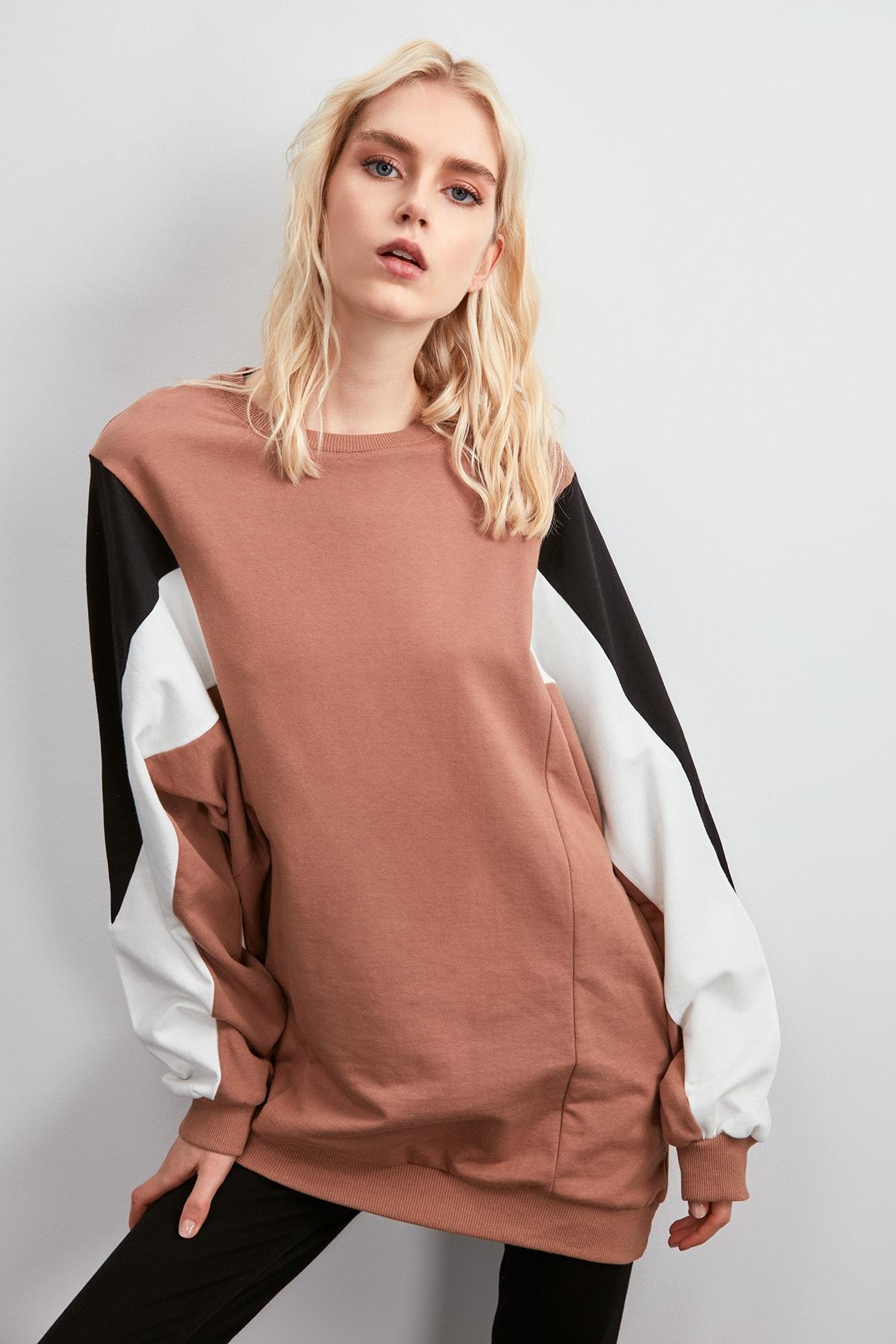Trendyol Oversize Knitted Sweatshirt TWOAW20SW0773