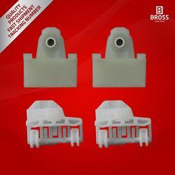 BWR46 + BWR5022 4 sztuk Regulator okna klipy suwak Sash złącza przednie lewe drzwi dla Alero 1999-2004 Grand Am 1992-2005