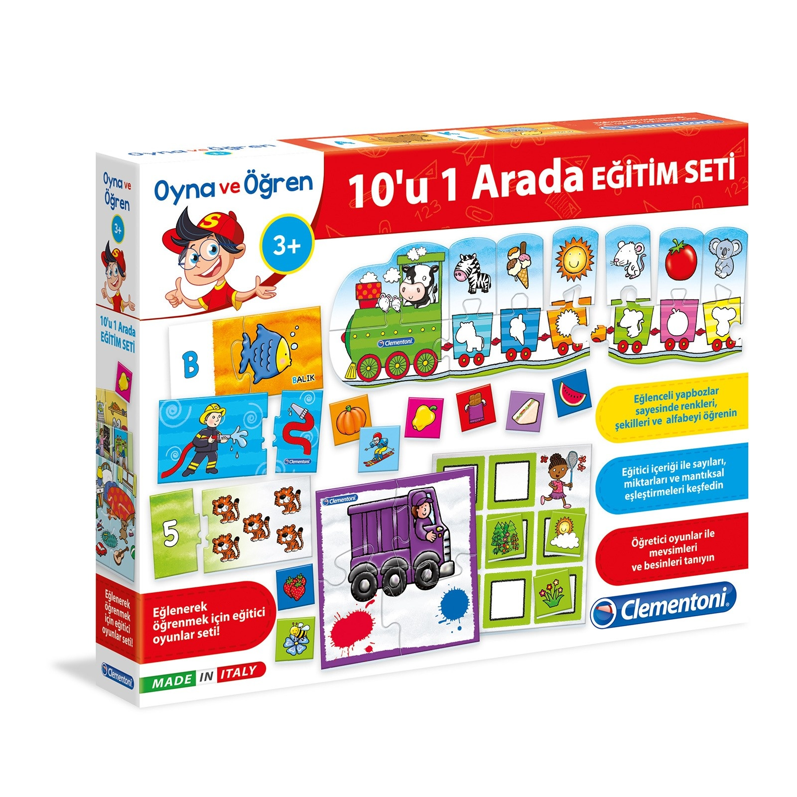 Ebebek Clementoni 10in1 Play And Learn Educational Set
