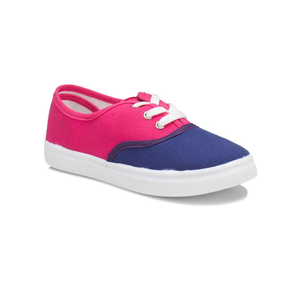 FLO GOMEZ Purple Female Child Sneaker Shoes I-Cool