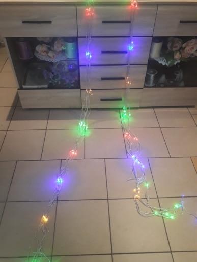 Fios de LED Sincelo Meteor Shower