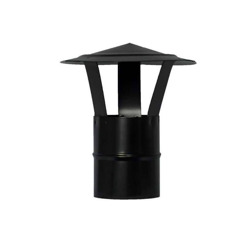 Hat Pellet Stove Vitrified Ø80mm