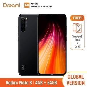 Image 2 - Global Versão Note Redmi 8 4 64GB ROM GB RAM (Novos e Selados), note8 64gb
