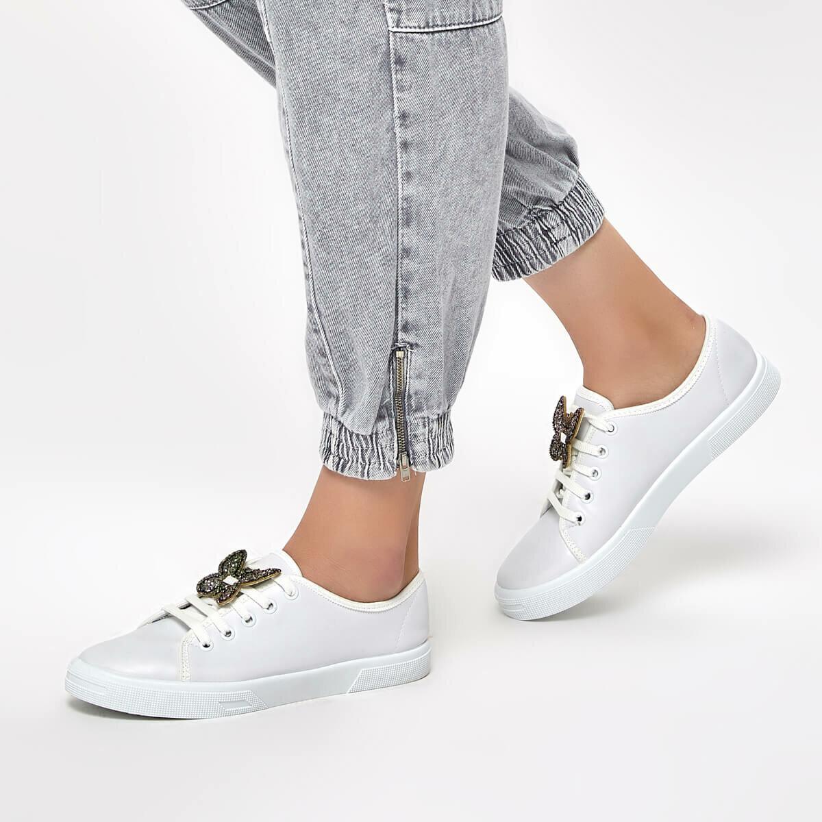 FLO 91.313423.Z White Women 'S Sneaker Shoes Polaris