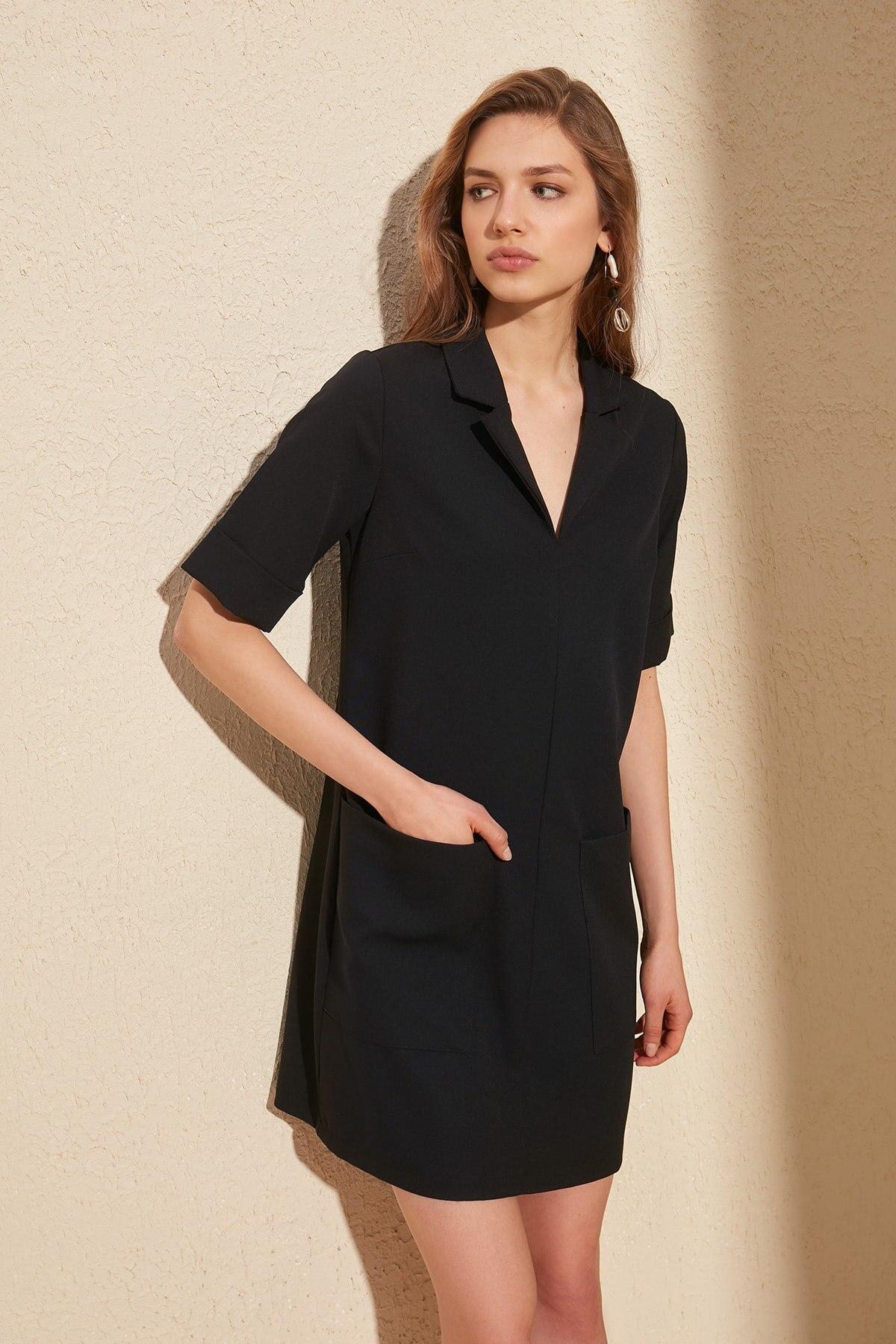 Trendyol Pockets Dress TWOSS20EL0449