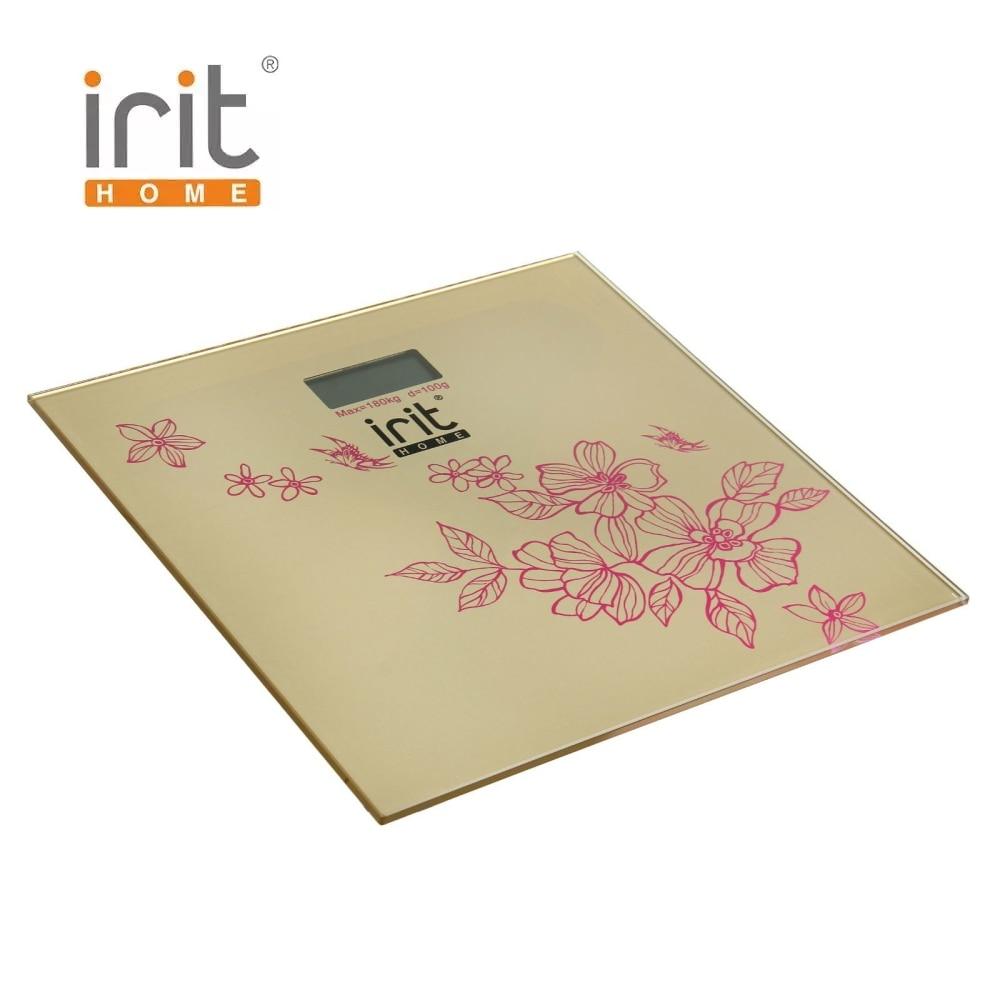 цены на Scale floor Irit IR-7258 Scale floor Scale smart Electronic body Scales for weighing human scales body weight в интернет-магазинах