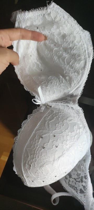 Sexy Women Lace Drill Bras Set Women Push Up Underwear Sets Bra And Thong Bra Briefs Panties Intimates Sets Dot Printed Bra & Brief Sets    - AliExpress