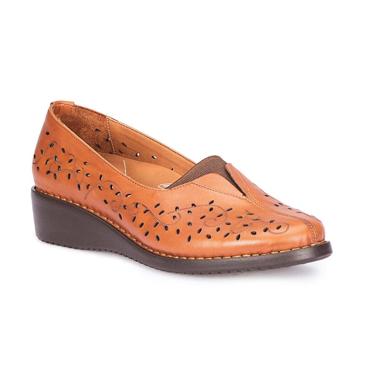 FLO 71.109651.Z Tan Women 'S Wedges Shoes Polaris 5 Point