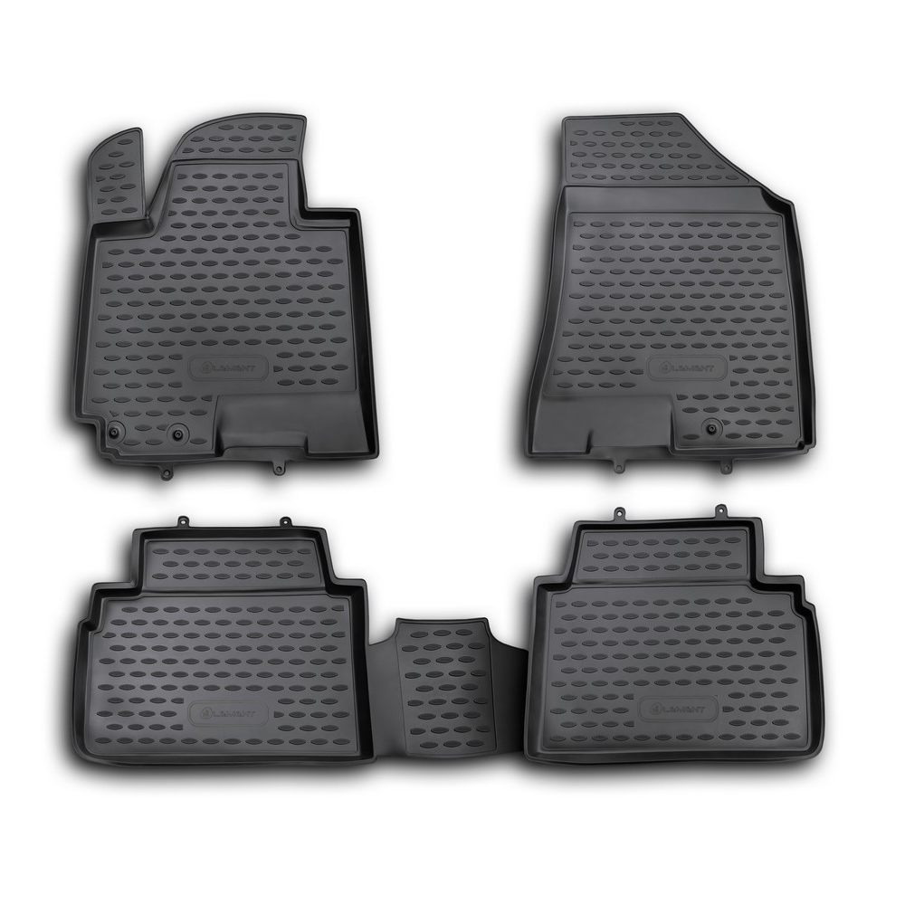 Floor mats for KIA Sportage 2010 2016. NLC.25.33.210h|  - title=