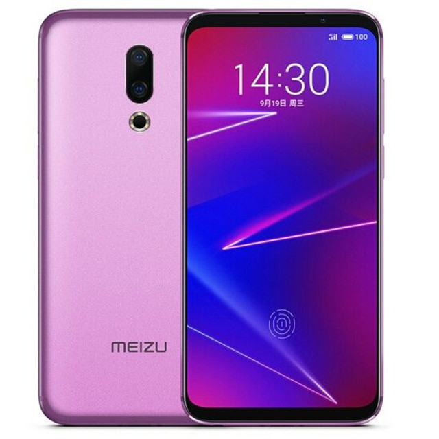 Global ROM Meizu 16X 6.0 Inch 4G LTE Smartphone Snapdragon 710  Dual Rear Cameras Android 8.1 In-Display Fingerprint Full Screen 5