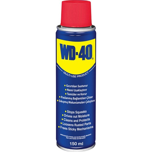 Multipurpose Rust Remover,Car,Wd-40150 ML,Car Accessories,Home, Office, Garden,Bicycle, motorcycle, Kitchen,Winter,Led, one pieces Mul