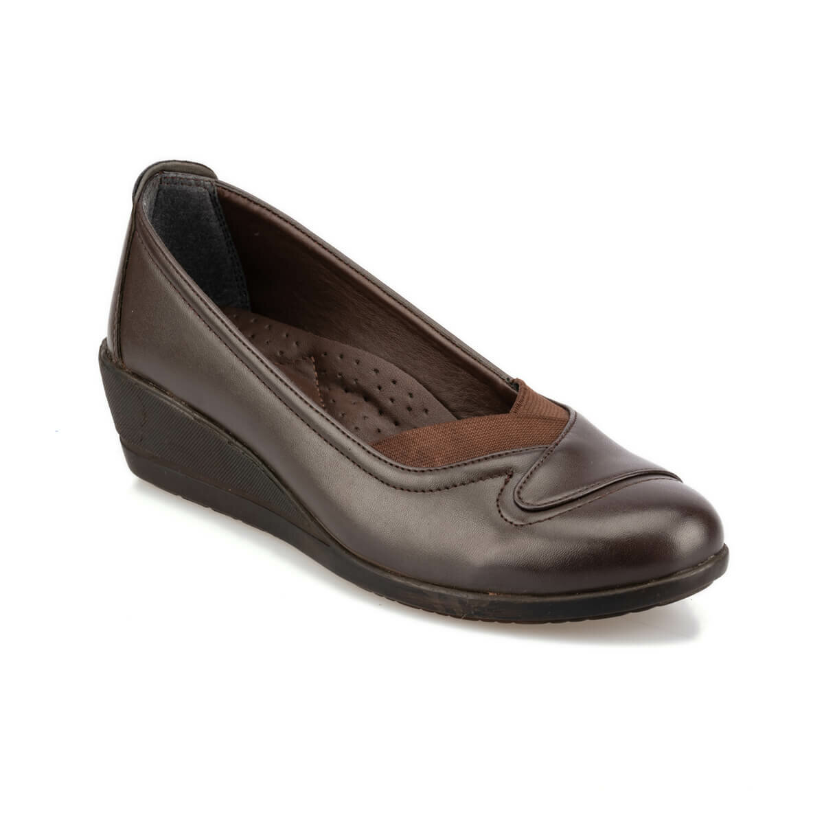 FLO 92.151026.Z Brown Women 'S Wedges Shoes Polaris