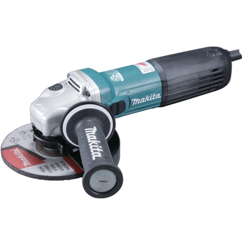 Angle grinder Makita GA6040C (power 1400 W, 150mm, speed adjustment) angle grinder makita ga7050