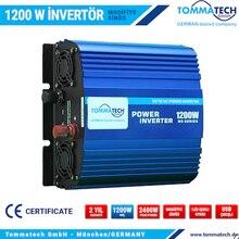 TOMMATECH 1200 W WATT 12 V - 24 V / 220 V volts onduleur à onde sinusoïdale modifiée