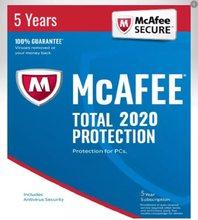 Антивирус Mcafee, полная защита 2021, 1 шт./5 лет