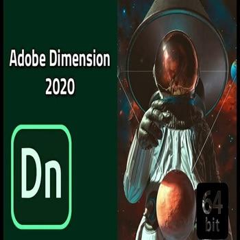 Adobe Dimension CC 2020 Full Version Windows - Lifetime Instant Delivery ( pc win )
