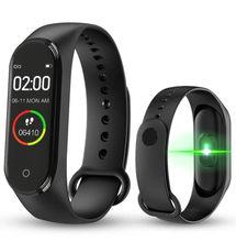 Смарт-браслет M4 смарт-браслет Bluetooth iOS Часы Android Bluetooth Berrych фитнес-трекер похожий на мой браслет 4