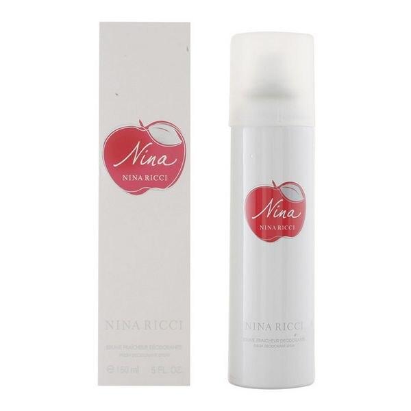 Spray Deodorant Nina Ricci (150 Ml)