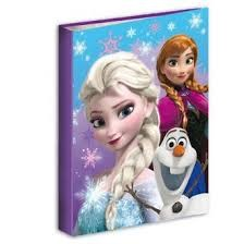 Folders 4 Rings Frozen Disney 2 Und.