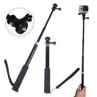 Bâton de Selfie étanche alloygraine télescopique extensible monopode pôle pour GoPro Hero 7 6 5 4 3 SJCAM Xiaomi Yi 4K caméra d'action