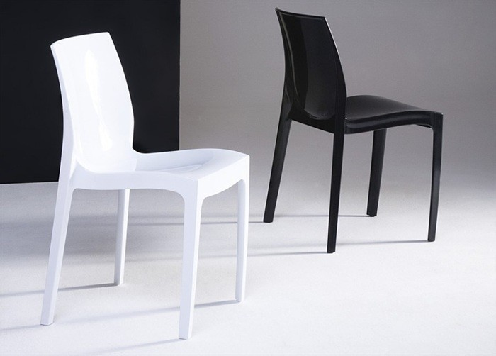 Chair ANTARCTIC Polypropylene, White, High Brightness