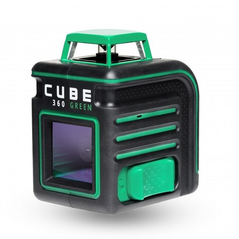 Laser level automatic ADA Cube 360 Green Professional Edition (Horizontal line 360 °, vertical, automatic laser level ada cube basic edition