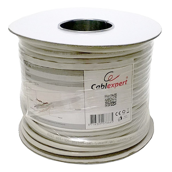CAT 6 UTP Cable GEMBIRD UPC-6004SE-SOL/100 (100 M) Coil Grey