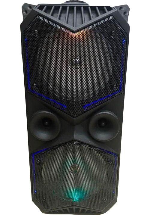 BT Speaker BT-1819 USB Bluetooth Combo Speaker Amplifier Sound Subwoofer Street Suitcase Microphone Acoustics FM