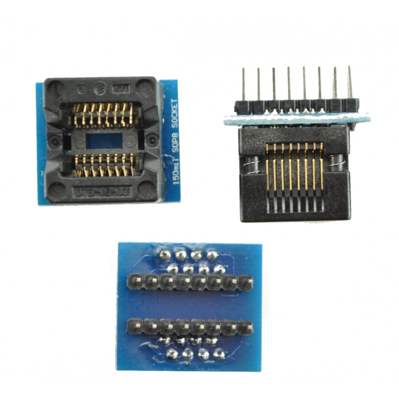 цены на Programmer socket SOP16 to DIP16 MOD-150MIL  в интернет-магазинах
