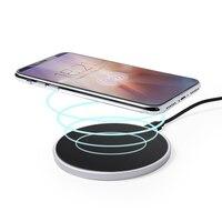 Qi carregador sem fio para smartphones preto 146130|Carregadores de Tablet| |  -