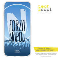 FunnyTech®Stand case for Samsung Galaxy A5 Silicone (2016) Forza Napoli vers.1