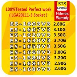 E5-1650V3 E5-1660V3 E5-1680V3 E5-1620V3 E5-1630V3 E5-1603V3 E5-1607V3 procesor Xeon oficjalna wersja komputer stancjonarny CPU serwera
