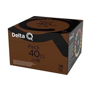 Pack XL Epiq, Espresso intensity 14, 40 capsules Delta Q