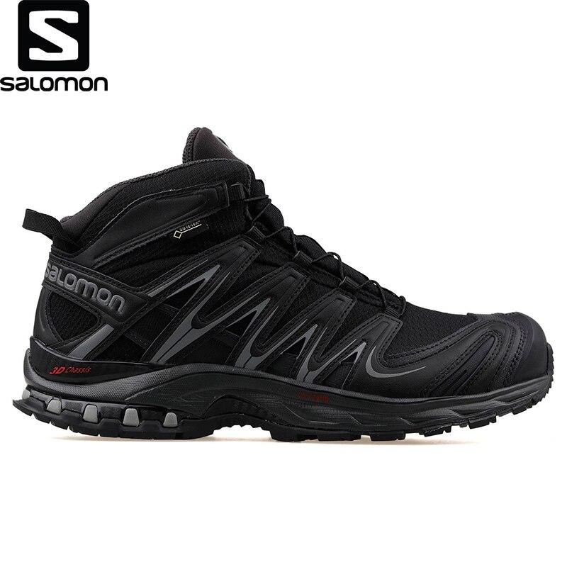 Salomon-zapato Negro Para Exteriores Para Hombre, L40765600 Xa Pro Mid Gtx