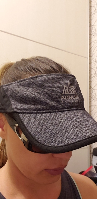 AONIJIE Women Men Outdoor Running Empty Top Hat Sport Marathon Visor Cap Ultralight Quick Dry Camping Hiking Anti UV Caps|Running Caps|   - AliExpress