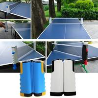 Retractable Table Tennis Ping Pong Portable Net Rack Neutral Pe Plastic Material Indoor Games Replacement Set