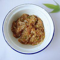 脂肪少热量低,又香又解馋的豆腐酿肉的做法图解3