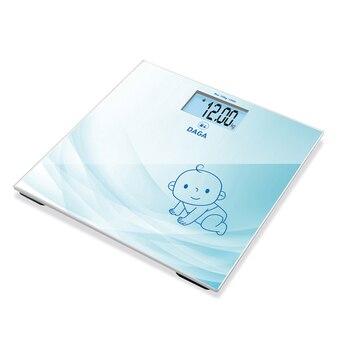 Daga BT-200 | Báscula de baño con Doble Función, 30x30 cm, ideal...