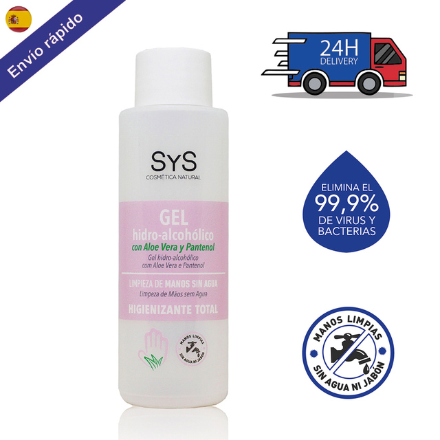 $ US $4.37 GEL HIDROALCOHOLICO hands/100 ML 70% ALCOHOL disinfectant-ANTISEPTICO-cleaning hands-on ALCOHOL and ALOE VERA