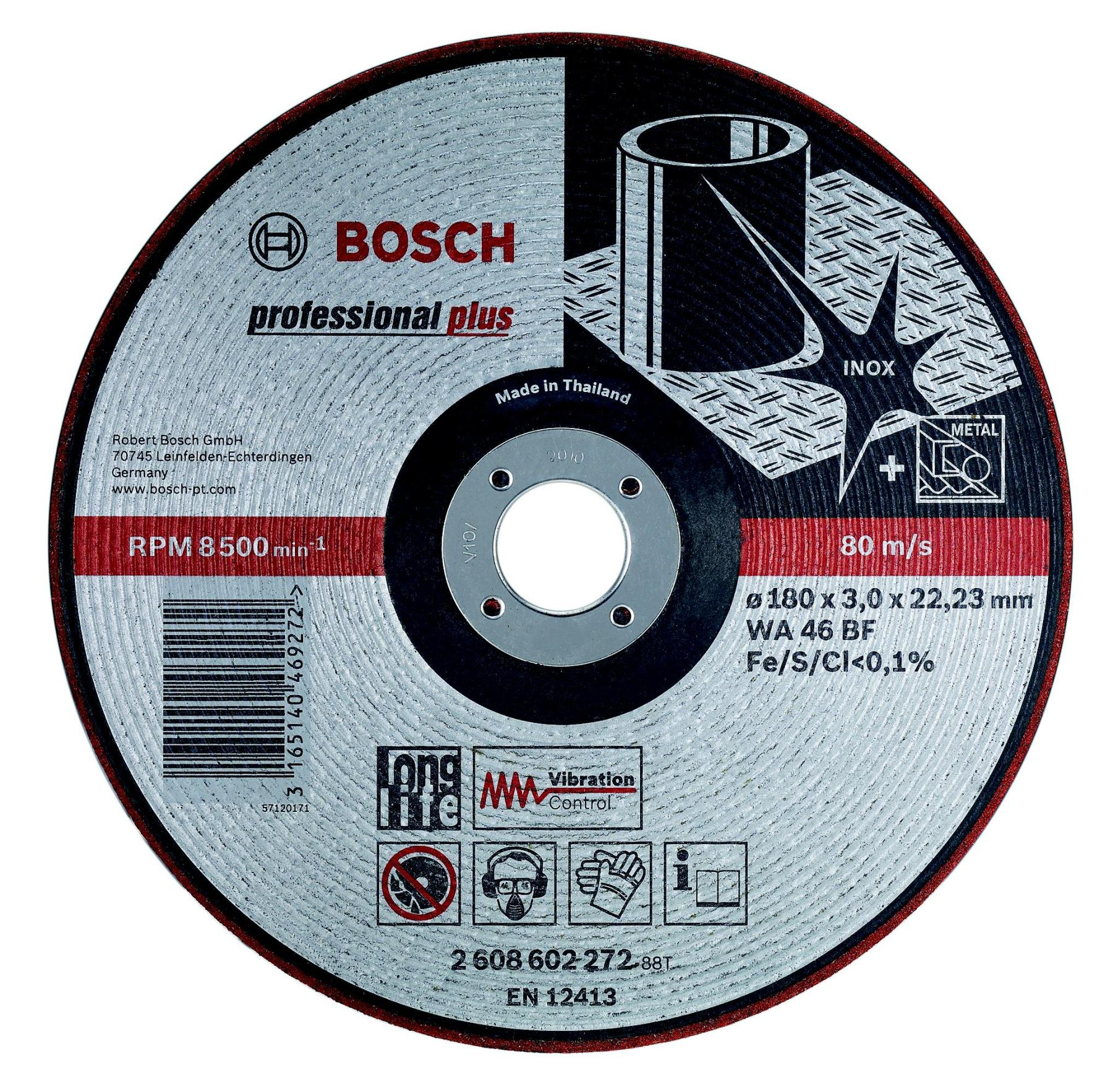 Circle Grinding BOSCH 125х3х22мм 14A