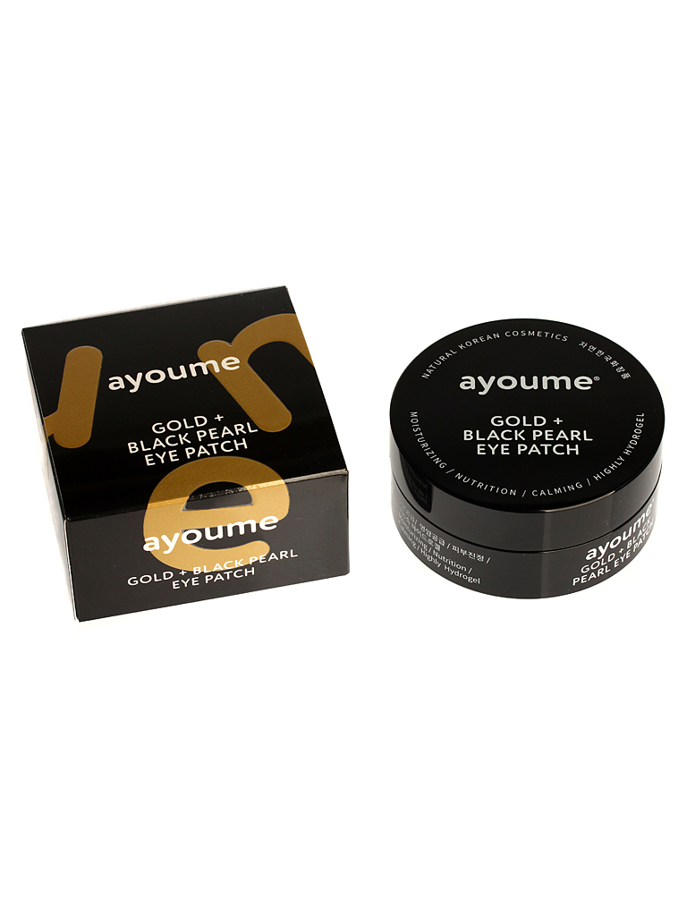AYOUME GOLD+BLACK PEARL EYE PATCH 1,4g*60
