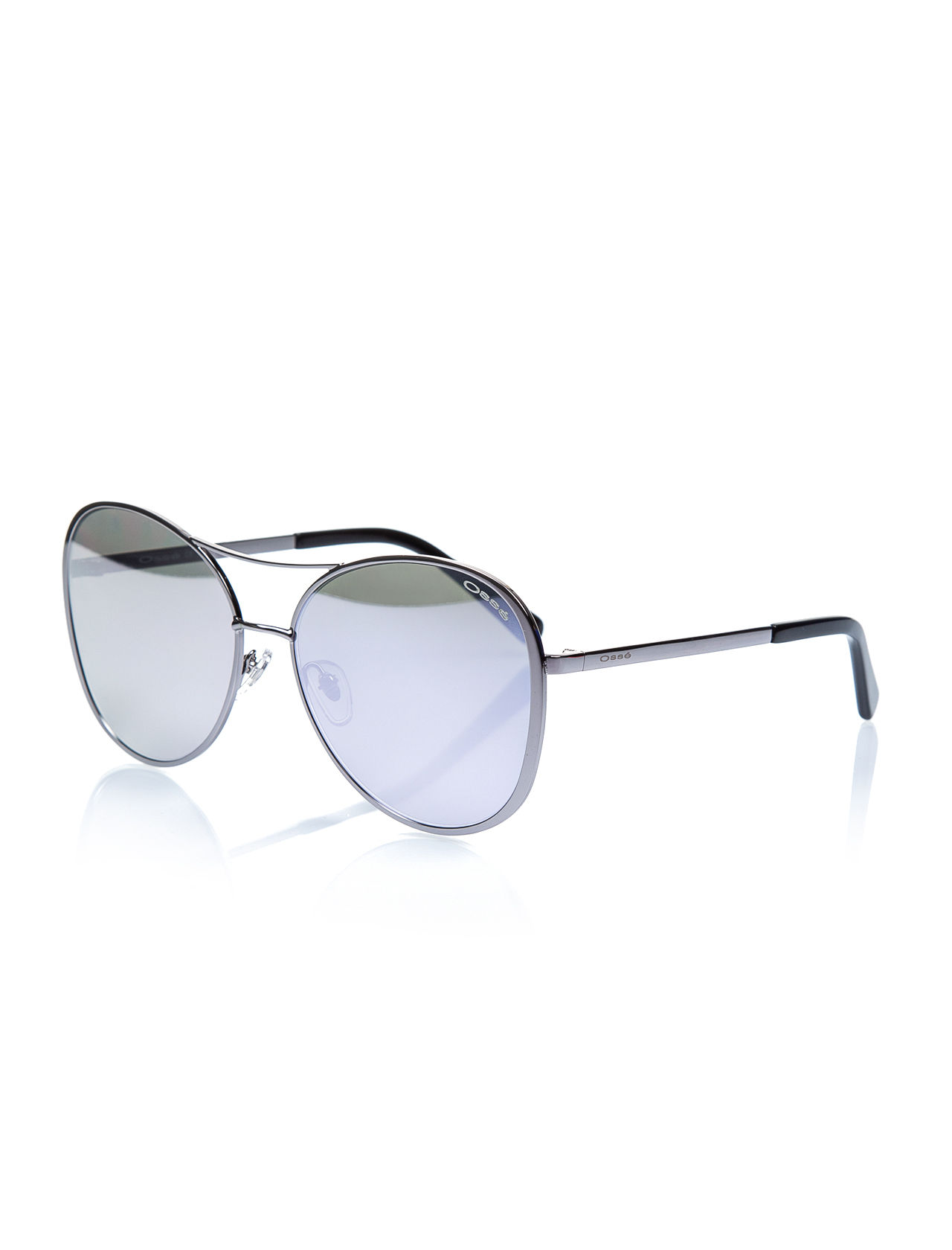 Women's sunglasses os 2754 02 metal silver organic oval aval 60-16-140 osse