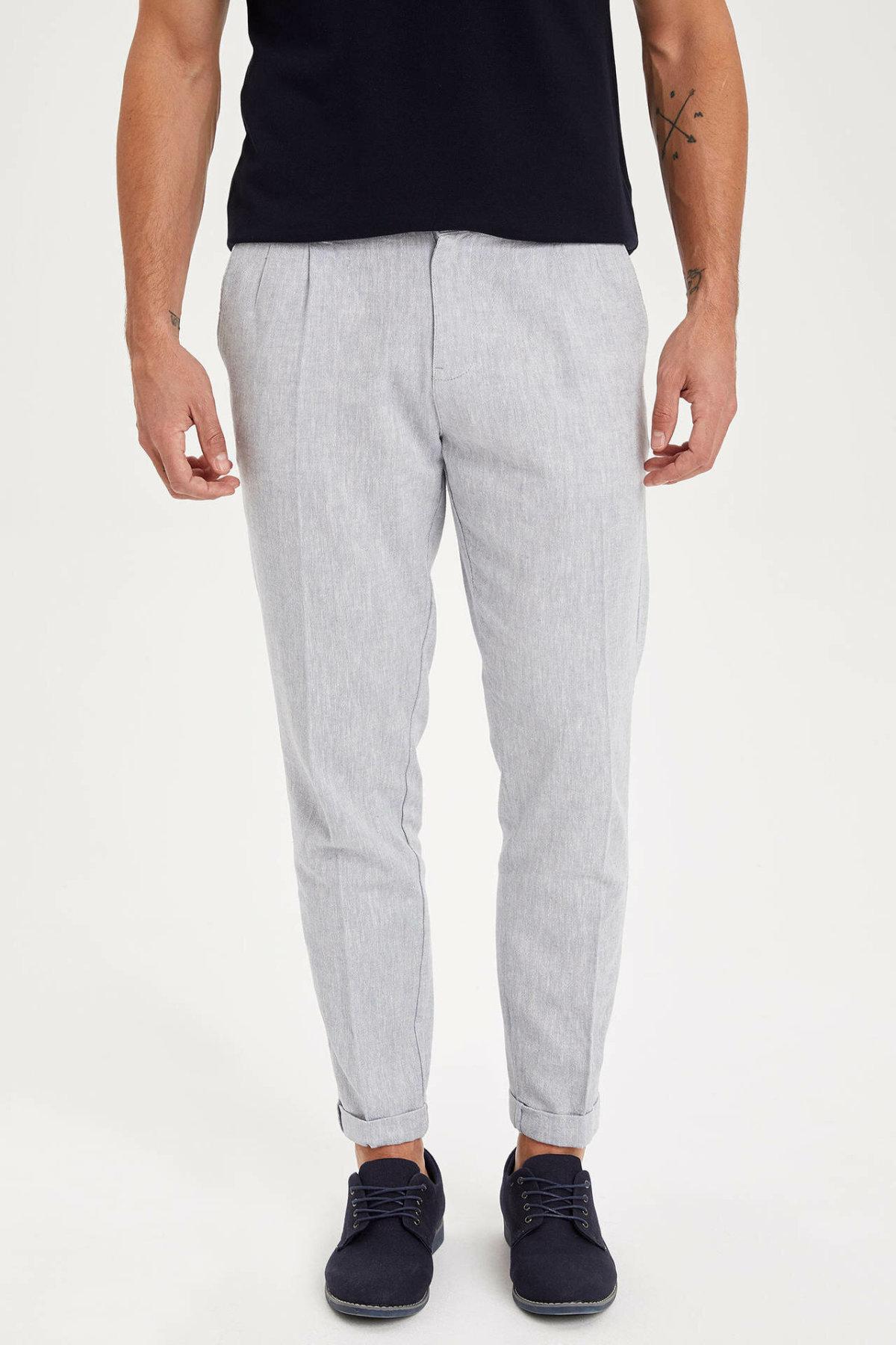 DeFacto Man Trousers-K3255AZ19SM