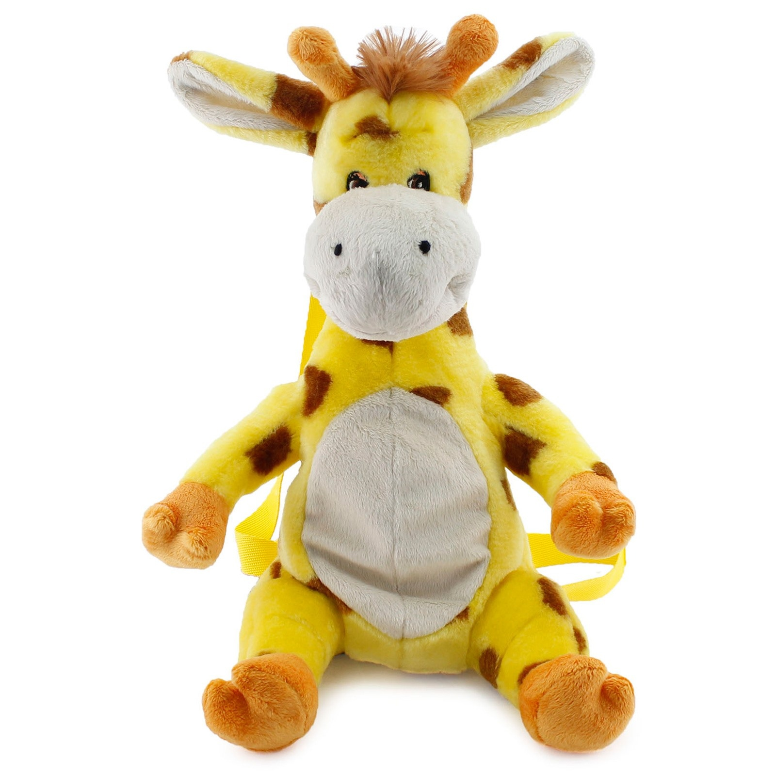 Ebebek Neco Toys Giraffe Plush Baby Backpack Bag