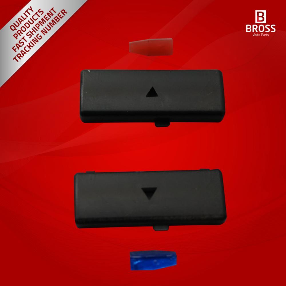 BDP88-12 2 개 히터 기후 제어 에어컨 스위치 버튼 커버 5 시리즈 X5 E53 2000-2007 E39 1995-2003