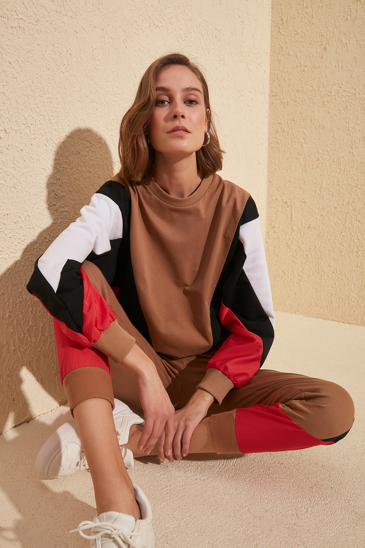 Trendyol Blocky Knitted Sweatshirt TWOSS20SW0146