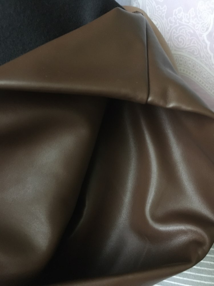 Autumn Winter Women Legging Skinny Pu Leather Pencil Leggings Slim Faux Leather Pants Female Fashion Thick Fleece Trousers photo review