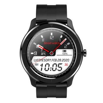 RUNDOING T6 Full touch round screen smart watch for men IP68 Waterproof  Blood pressure oxygen smartwatch for women 8